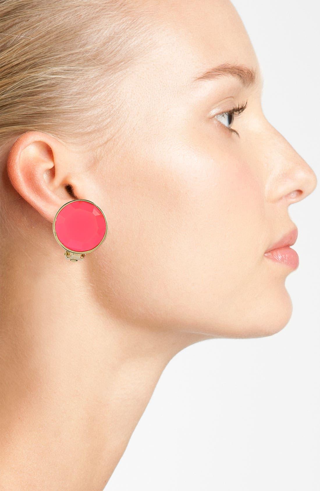Alternate Image 2  - kate spade new york 'bauble box' clip earrings