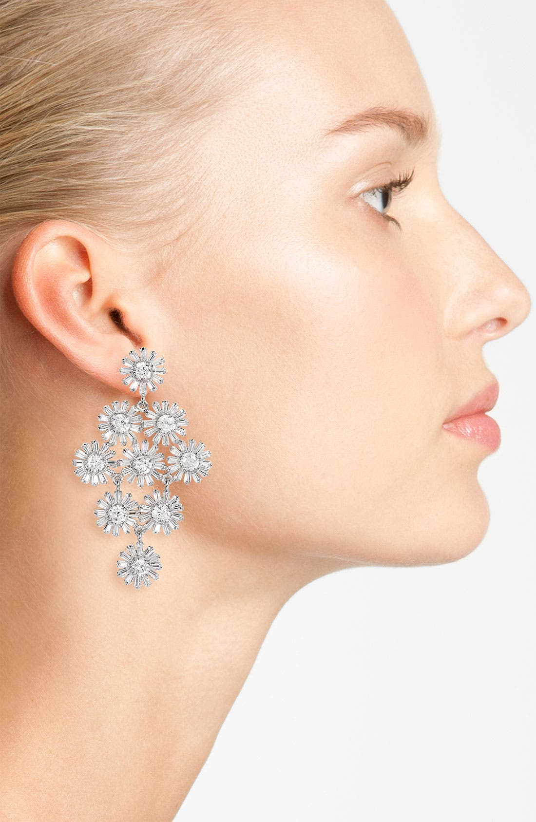 Alternate Image 2  - kate spade new york 'crystal gardens' chandelier earrings