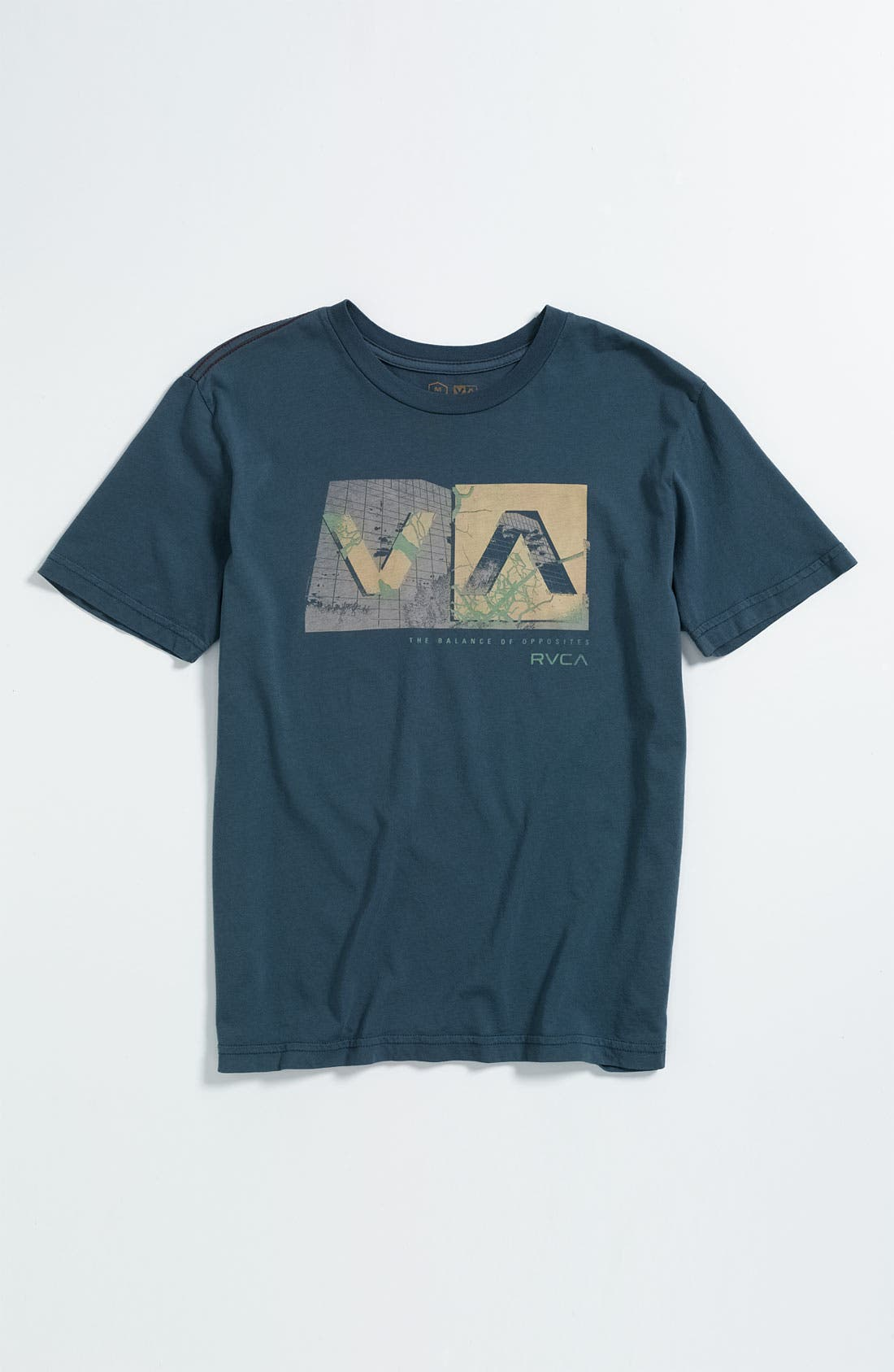 Alternate Image 1 Selected - RVCA 'Branch Box' T-Shirt (Big Boys)