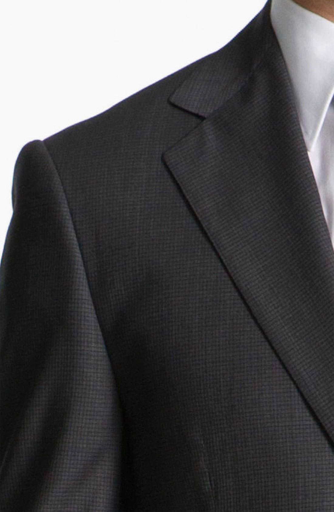 Alternate Image 6  - Joseph Abboud 'Signature Silver' Check Suit