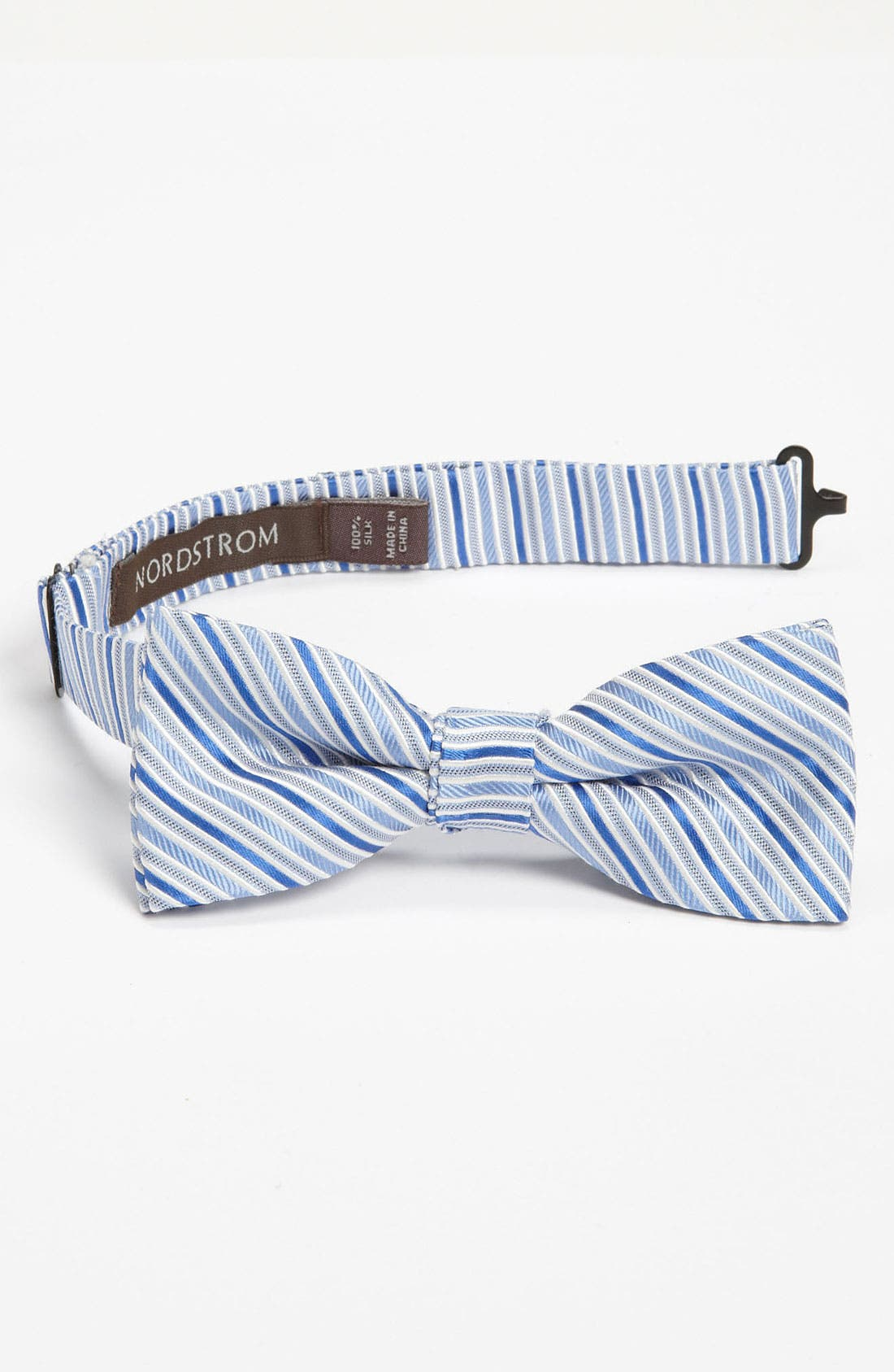 Main Image - Nordstrom Silk Bow Tie (Toddler)