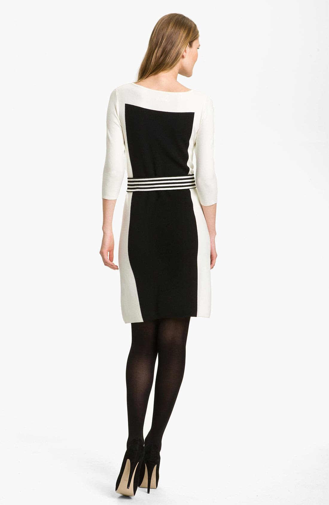 Alternate Image 2  - Milly Intarsia Sweater Dress