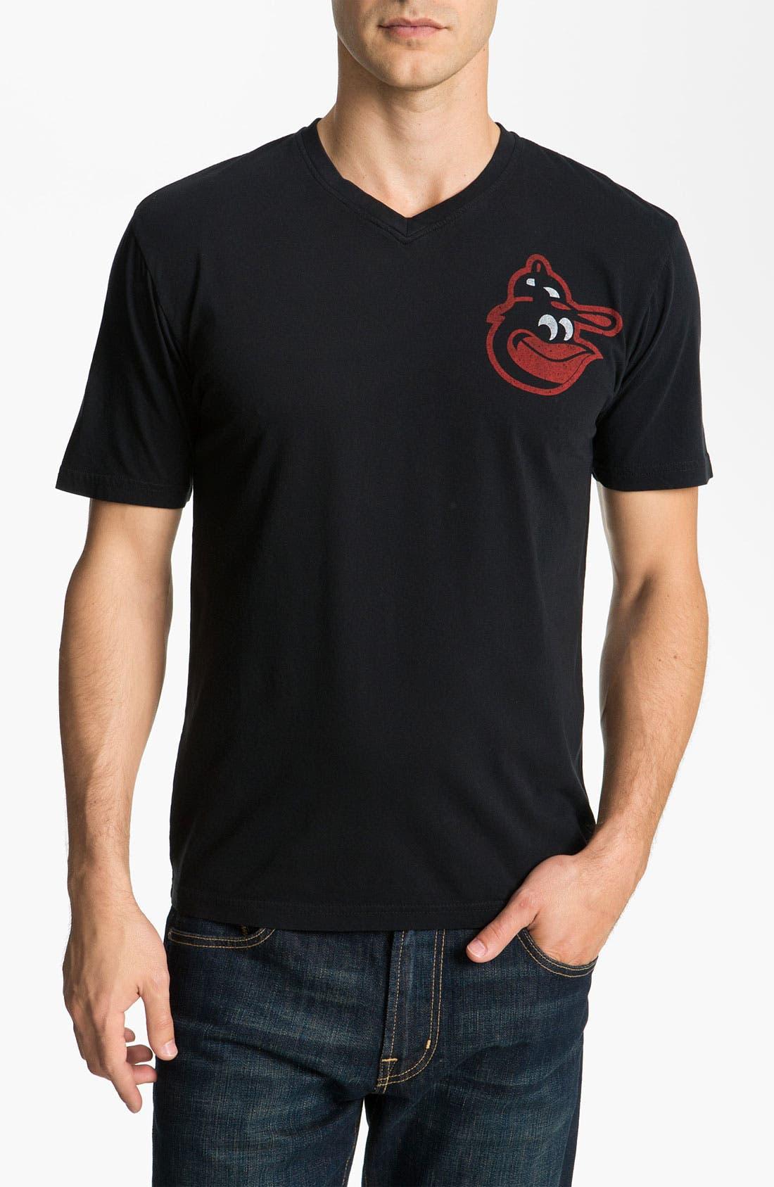 Alternate Image 1 Selected - Red Jacket 'Orioles - Huron' V-Neck T-Shirt