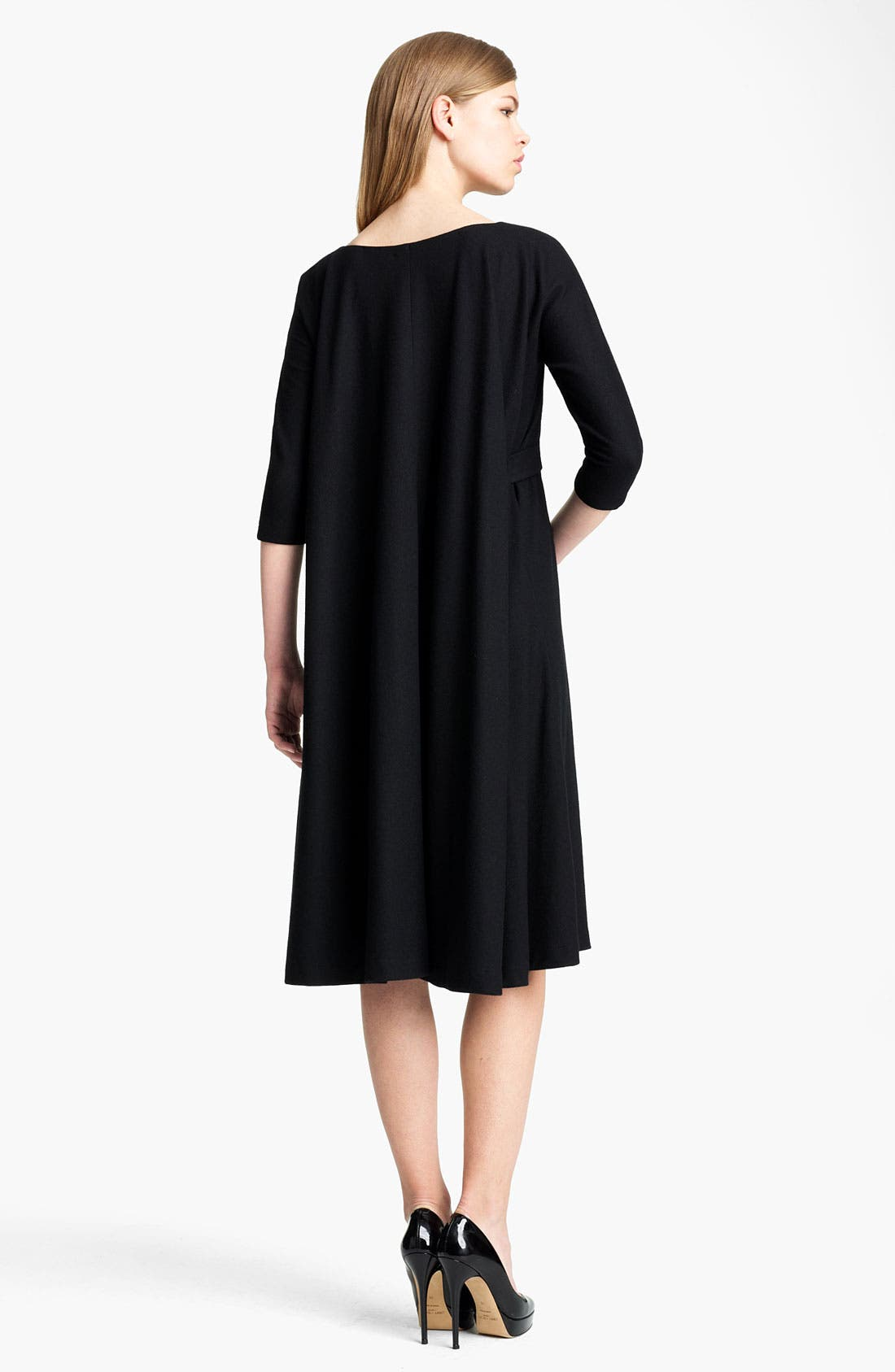 Alternate Image 3  - Jil Sander Belted Wool Jersey Dress