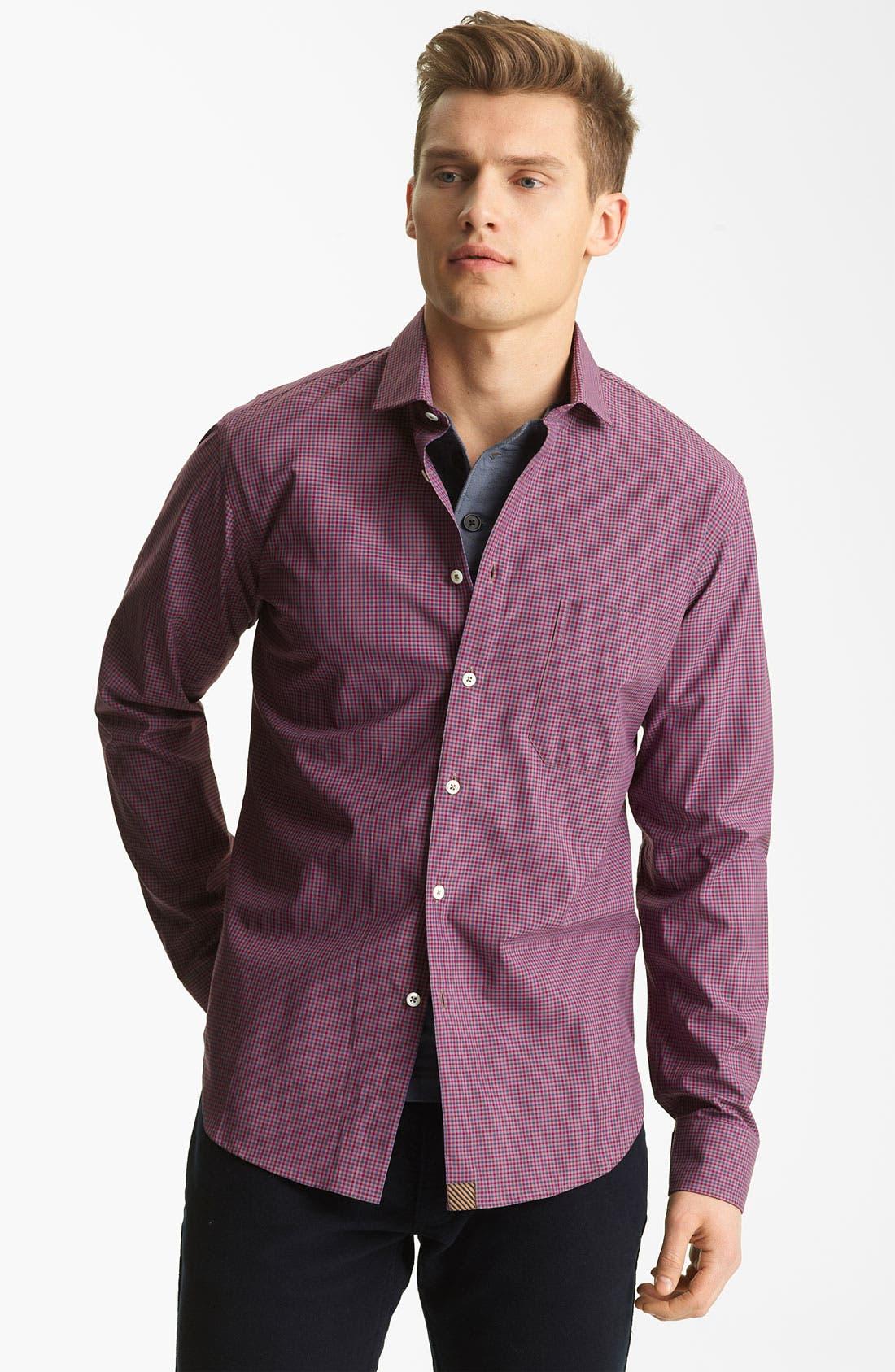 Alternate Image 1 Selected - Billy Reid 'John' Check Shirt