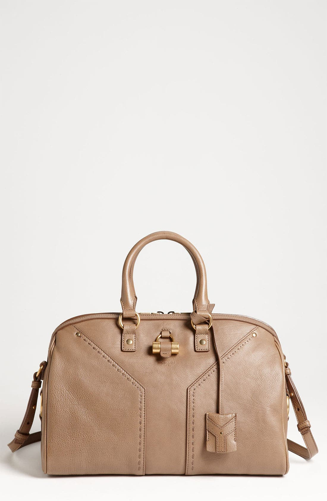 Alternate Image 1 Selected - Yves Saint Laurent 'Muse' Leather Satchel