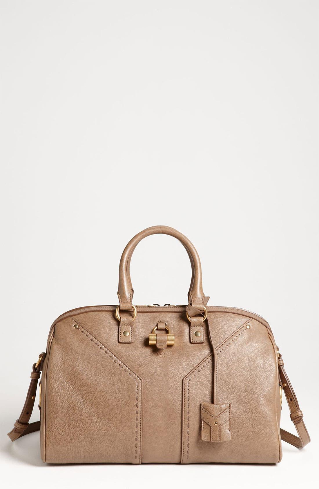 Main Image - Yves Saint Laurent 'Muse' Leather Satchel