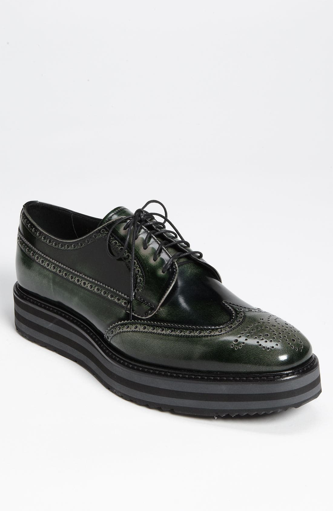 Main Image - Prada Triple Sole Wingtip