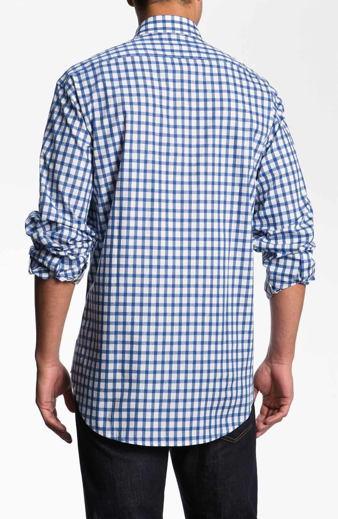 Alternate Image 2  - Thomas Dean Check Sport Shirt