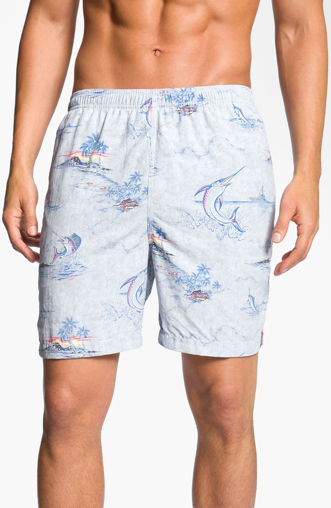 Main Image - Tommy Bahama Relax 'Marlin and Me' Swim Shorts