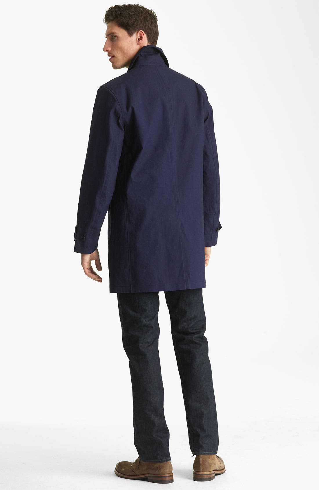 Alternate Image 5  - Jack Spade Bonded Raincoat