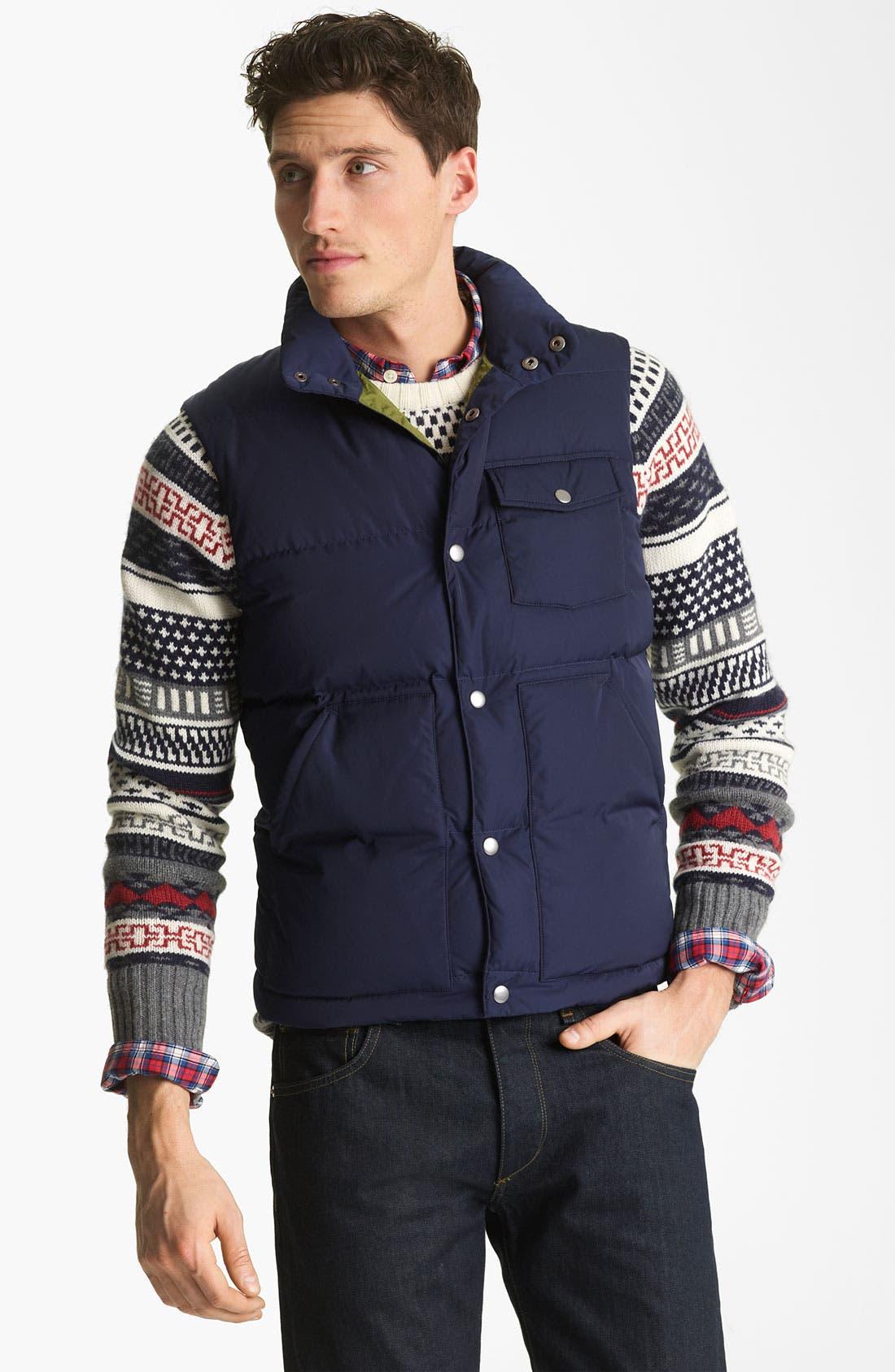 Alternate Image 1 Selected - Jack Spade 'Weber' Down Vest