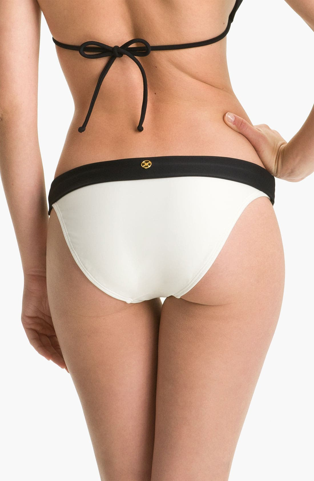 Alternate Image 2  - ViX Swimwear 'Betsy Colorblock Bia' Bikini Bottoms
