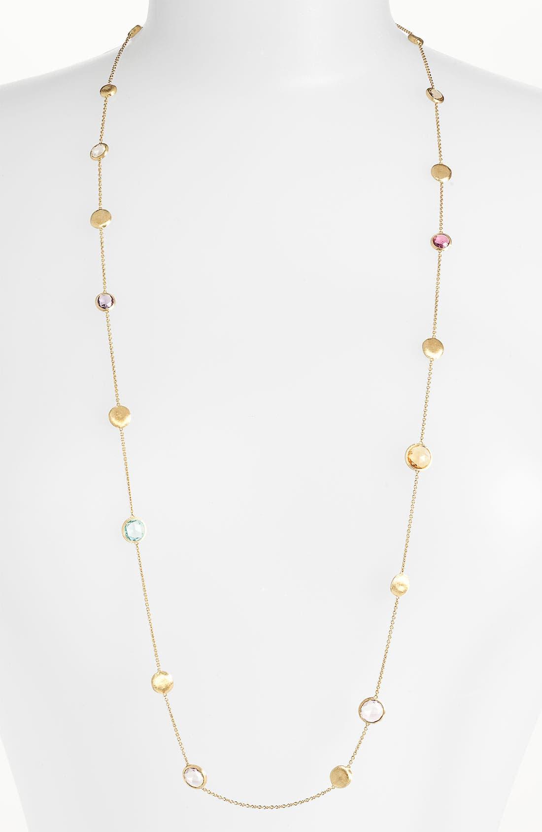 Alternate Image 2  - Marco Bicego 'Jaipur' Semiprecious Stone Long Necklace