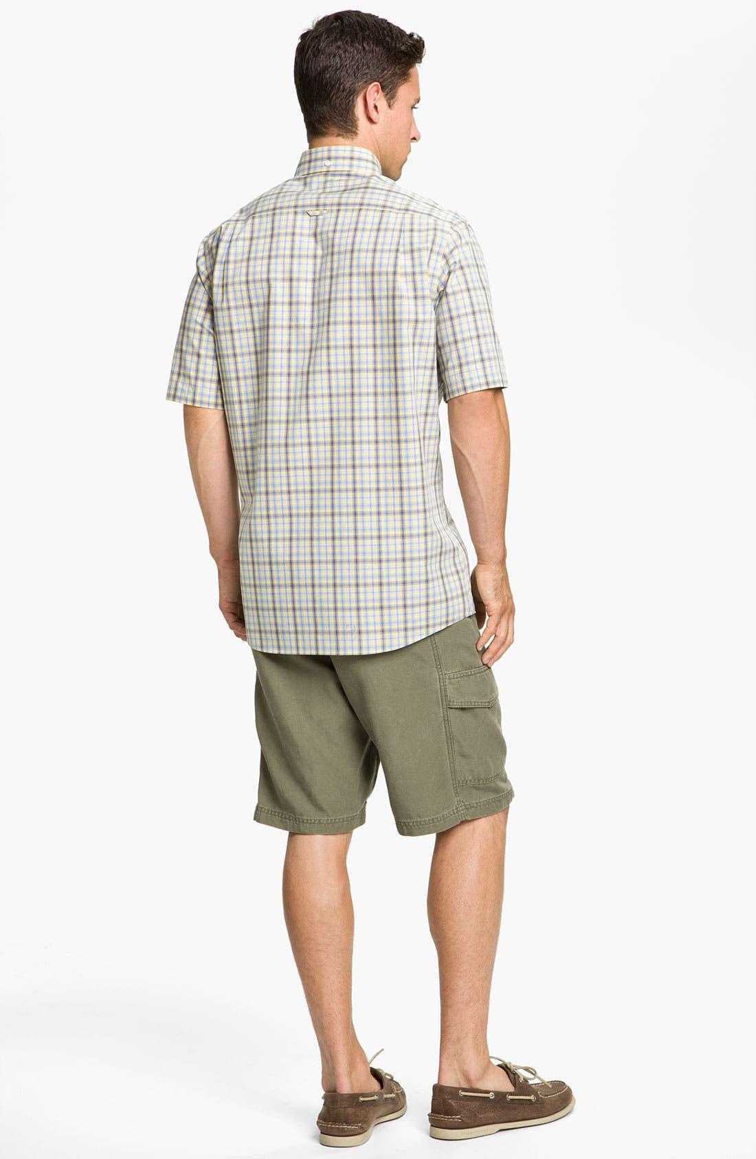 Alternate Image 5  - Nordstrom Smartcare™ Poplin Sport Shirt