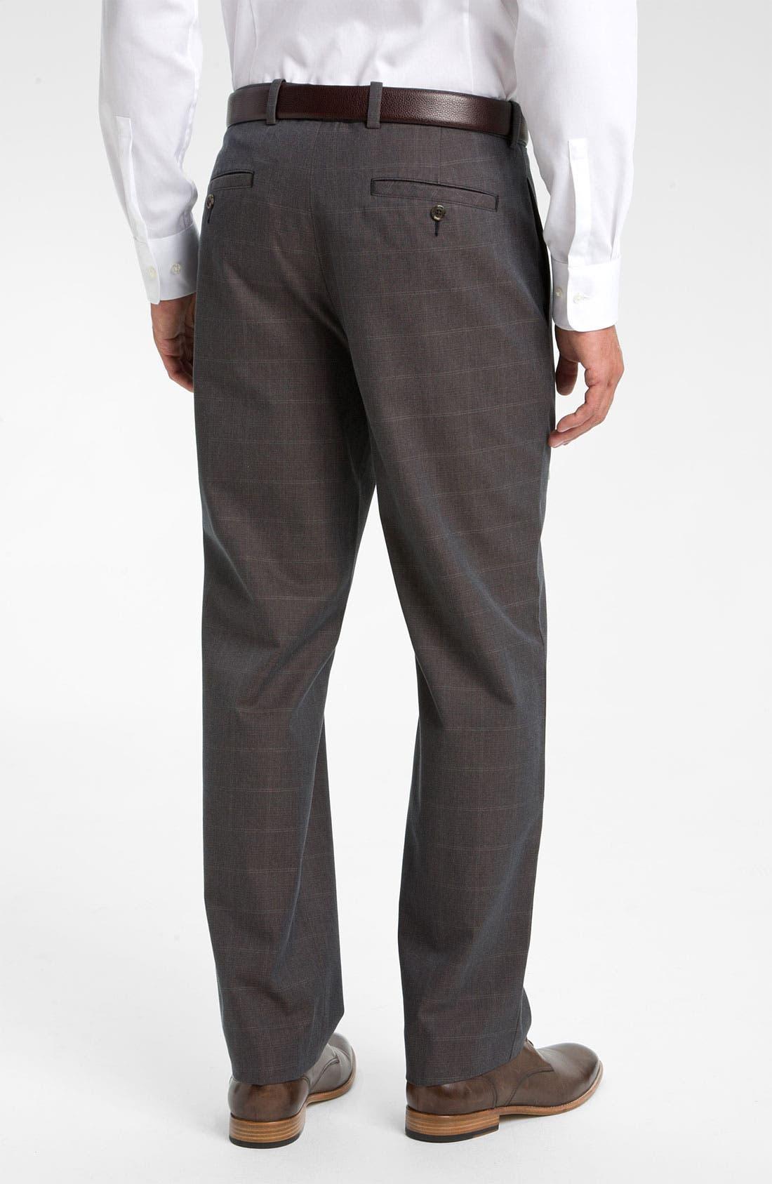 Alternate Image 2  - John W. Nordstrom® Smartcare™ Supima® Cotton Pants