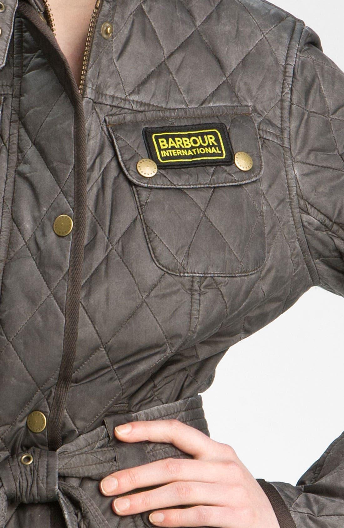 Alternate Image 3  - Barbour 'Heritage International' Quilted Jacket (Online Exclusive)