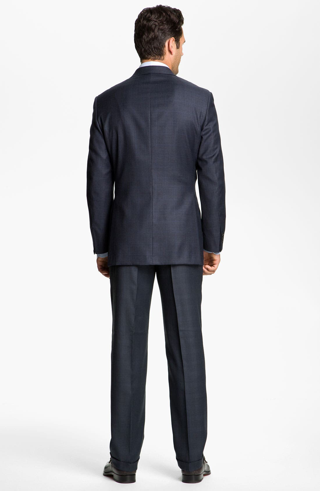 Alternate Image 3  - Hickey Freeman Windowpane Suit