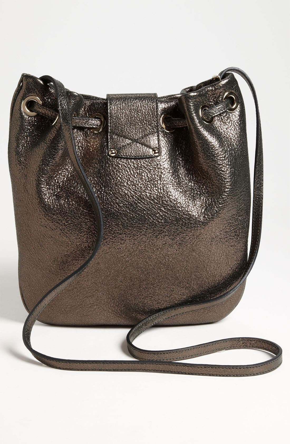 Alternate Image 4  - Jimmy Choo 'Ryad' Glitter Leather Crossbody Bag