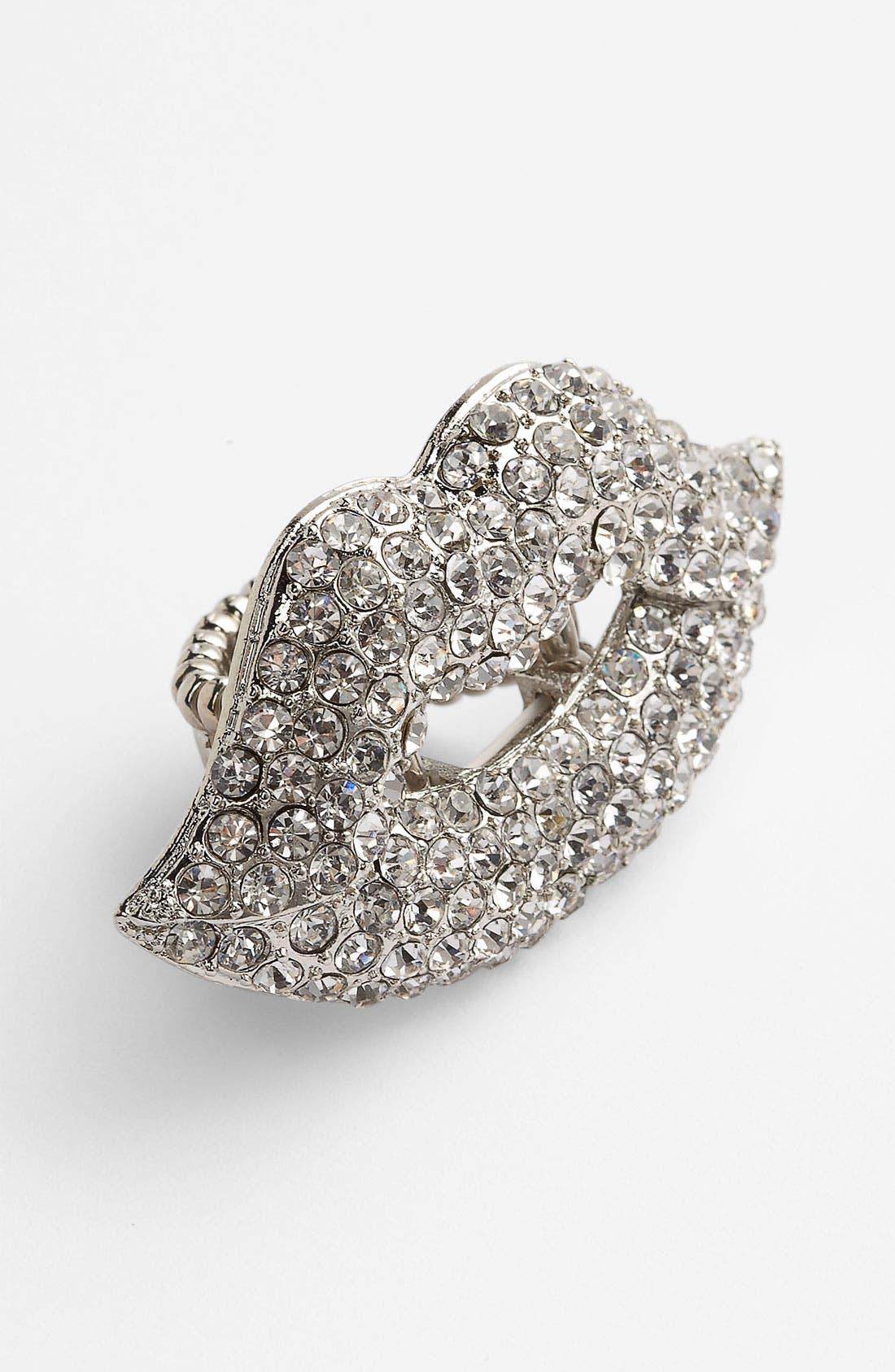 Alternate Image 1 Selected - Natasha Couture 'Lip' Ring