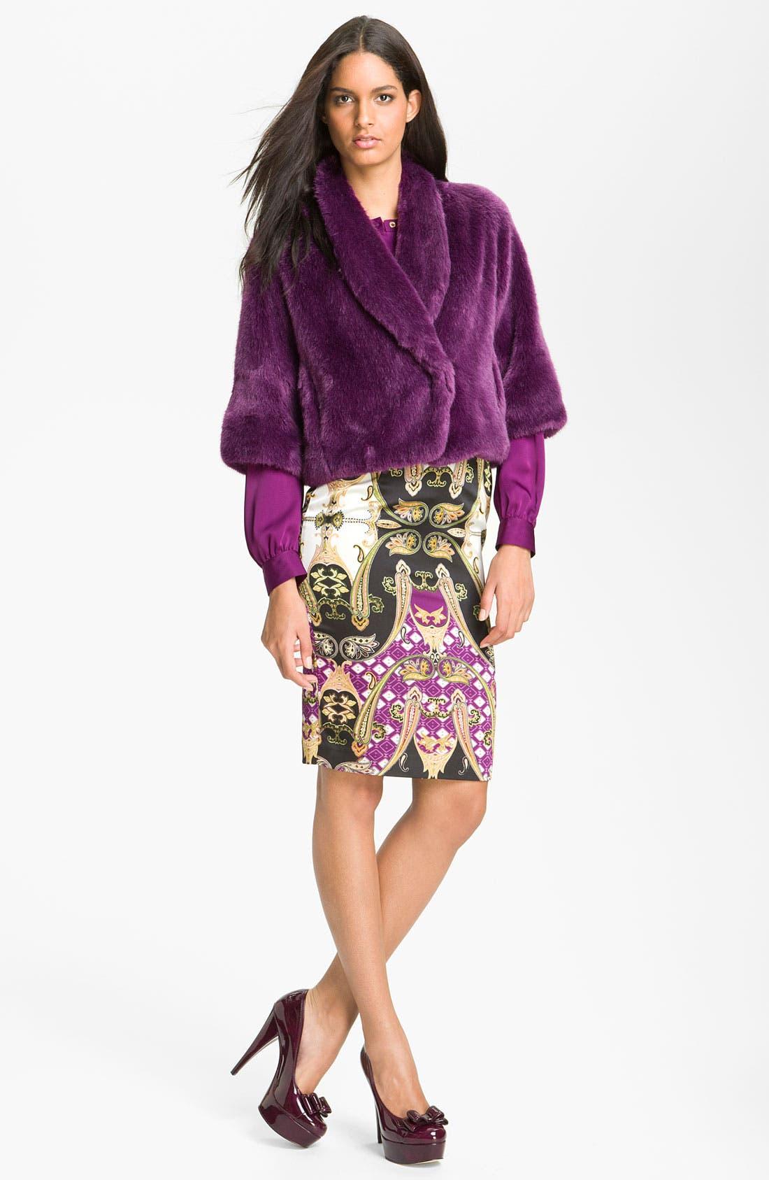 Alternate Image 3  - Vince Camuto Faux Fur Crop Jacket