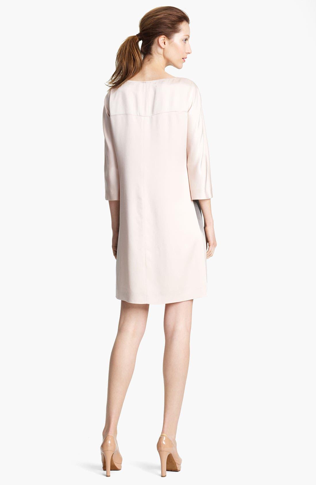 Alternate Image 2  - Moschino Cheap & Chic Print Silk Dress