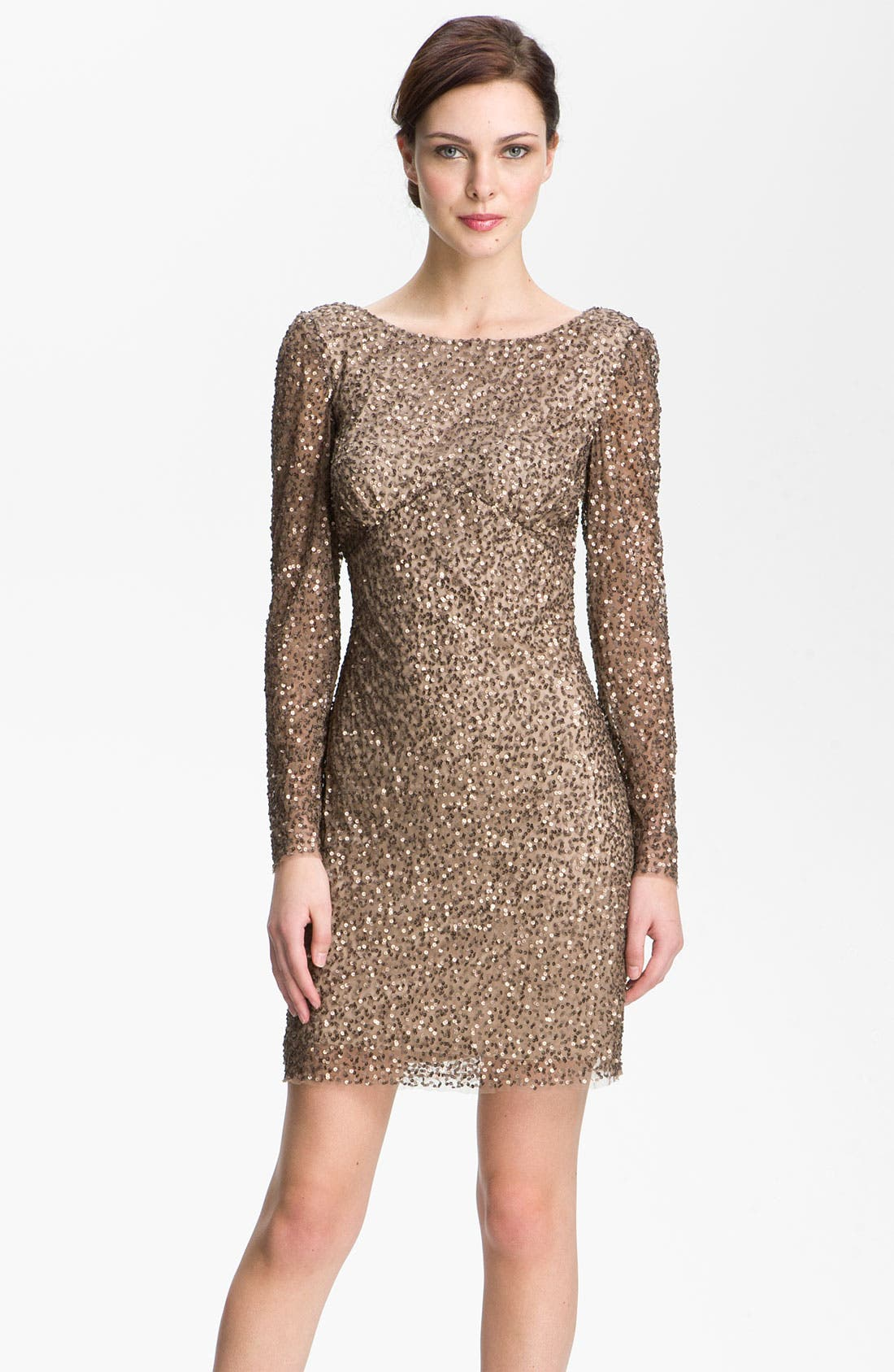 Main Image - Adrianna Papell Sequin Shift Dress
