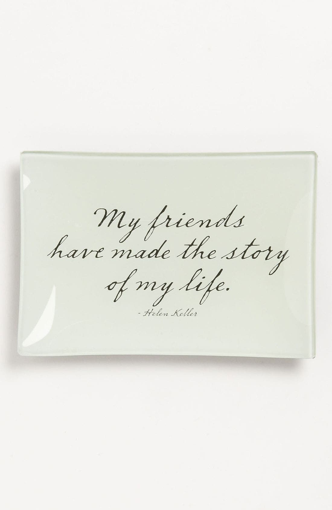 BEN'S GARDEN 'My Friends' Trinket Tray