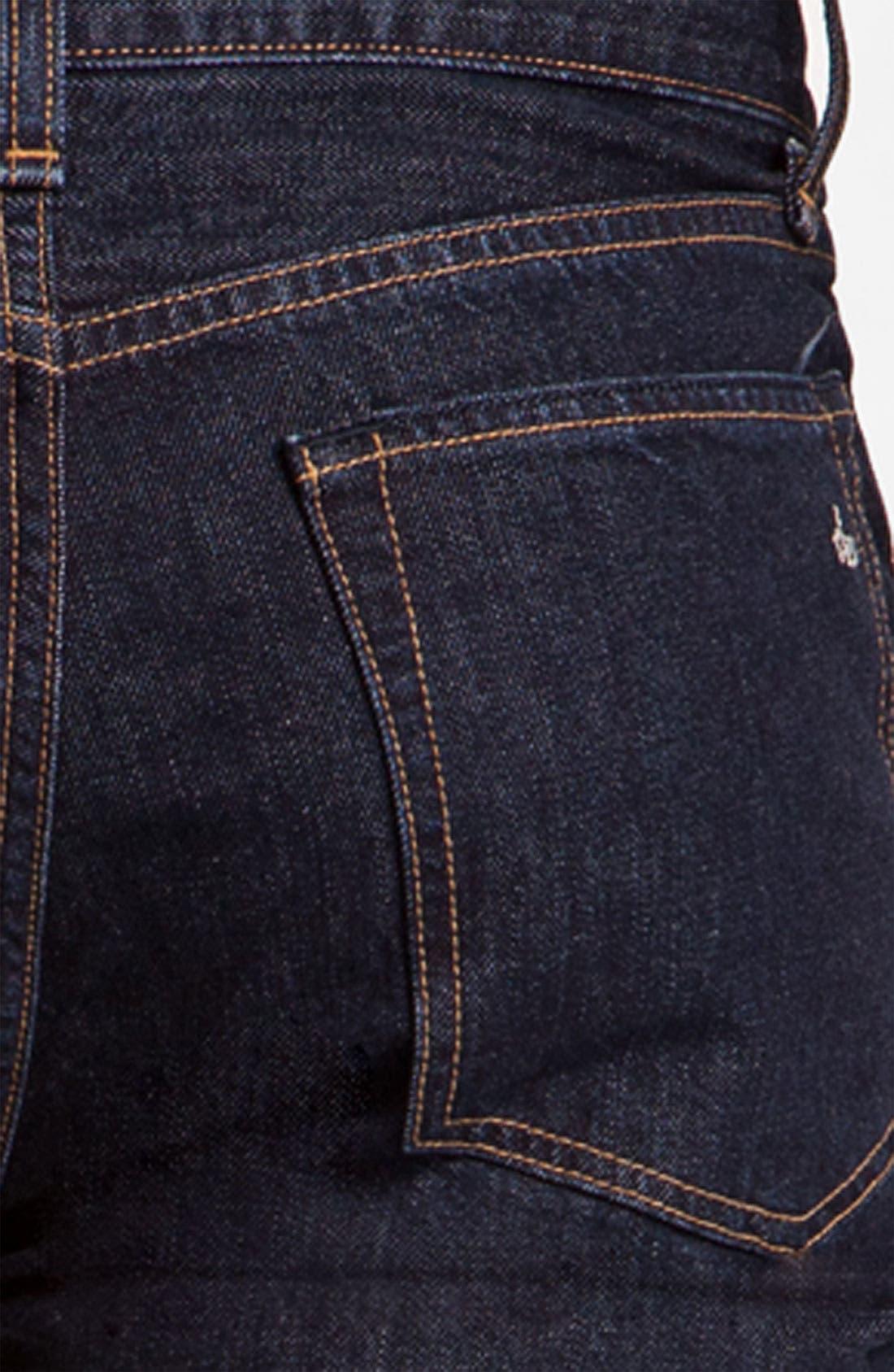 Alternate Image 4  - rag & bone 'RB11X' Straight Leg Jeans