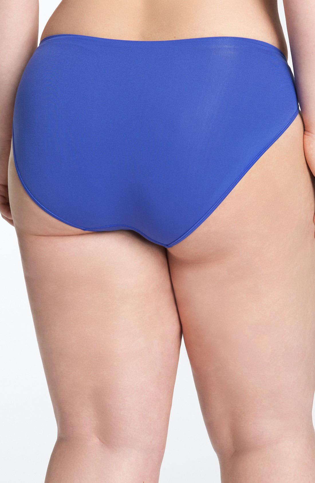 Alternate Image 2  - Shimera Seamless High Cut Panties (Plus Size) (3 for $33)