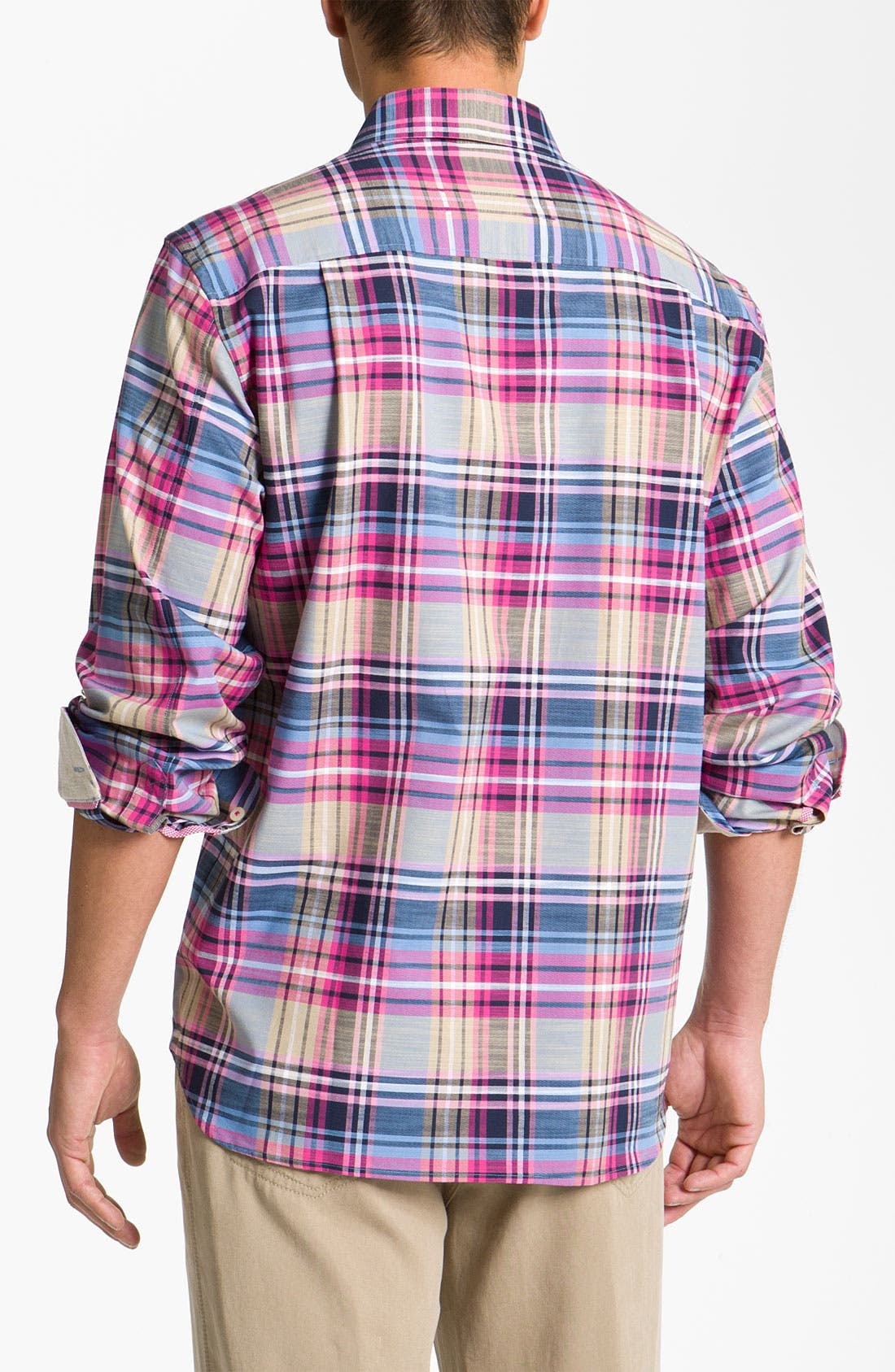 Alternate Image 2  - Tommy Bahama 'Mangrove Plaid' Sport Shirt