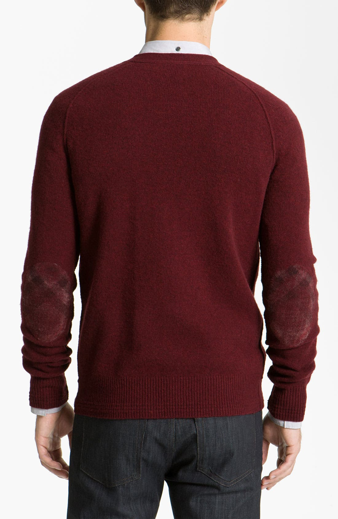 Alternate Image 2  - Burberry Brit Wool & Cashmere Sweater