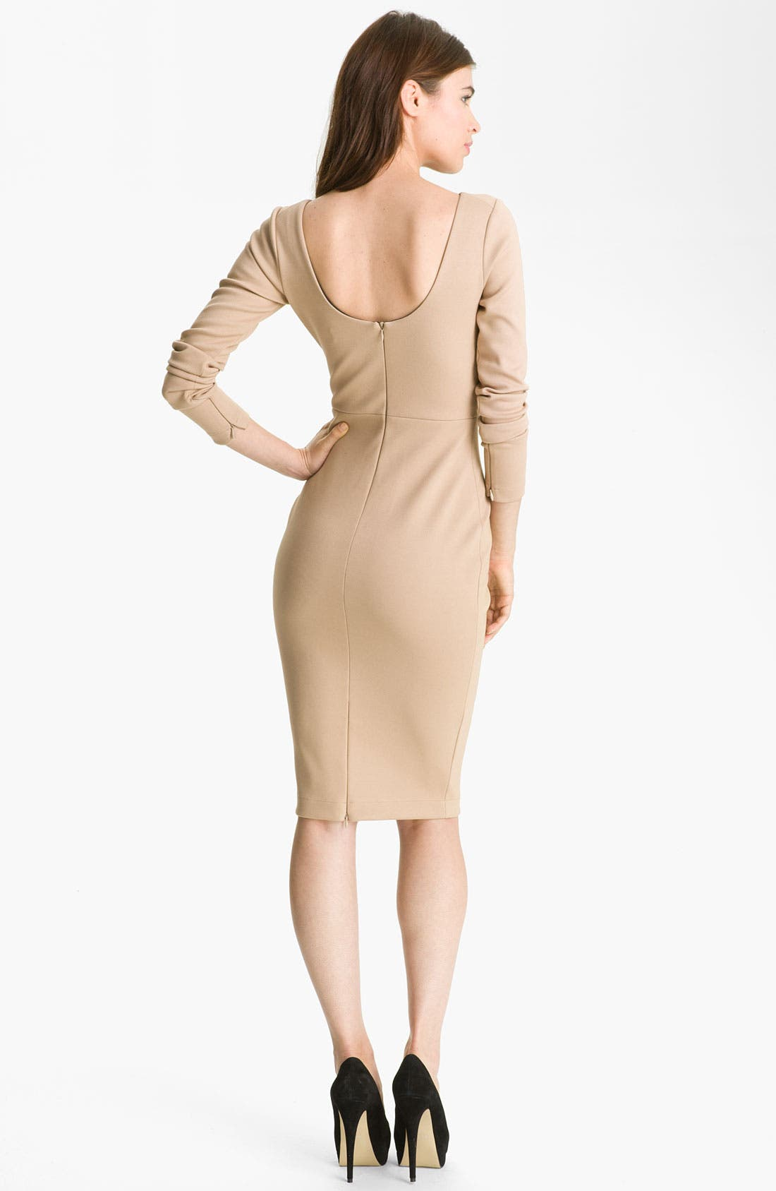 Alternate Image 2  - Robert Rodriguez Long Sleeve Pencil Dress