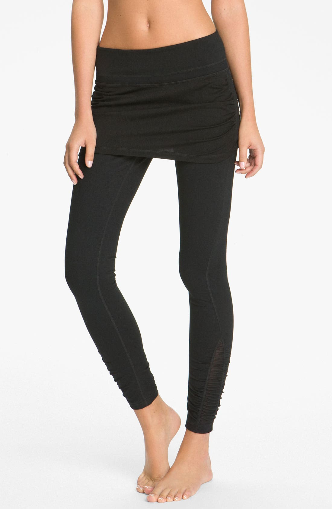 Alternate Image 1 Selected - Zella 'Work It' Skirted Leggings