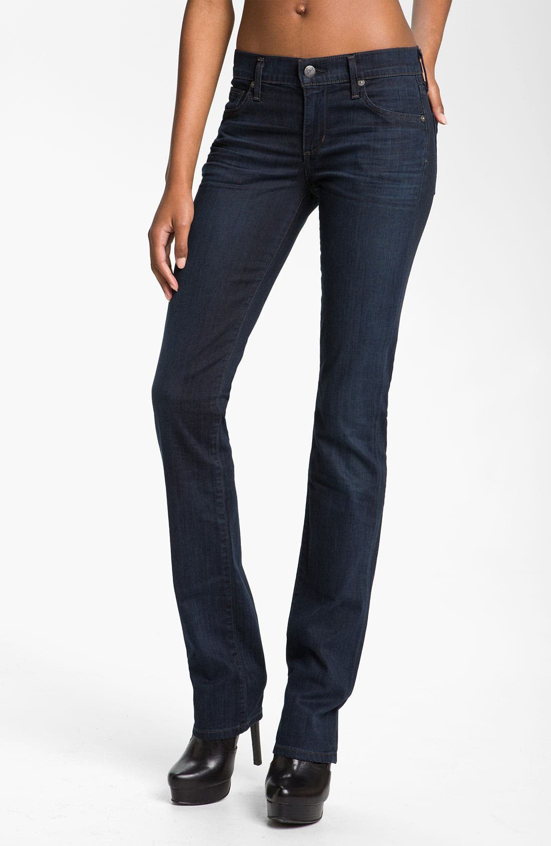 Alternate Image 1  - Citizens of Humanity 'Ava' Straight Leg Stretch Jeans (Honor)