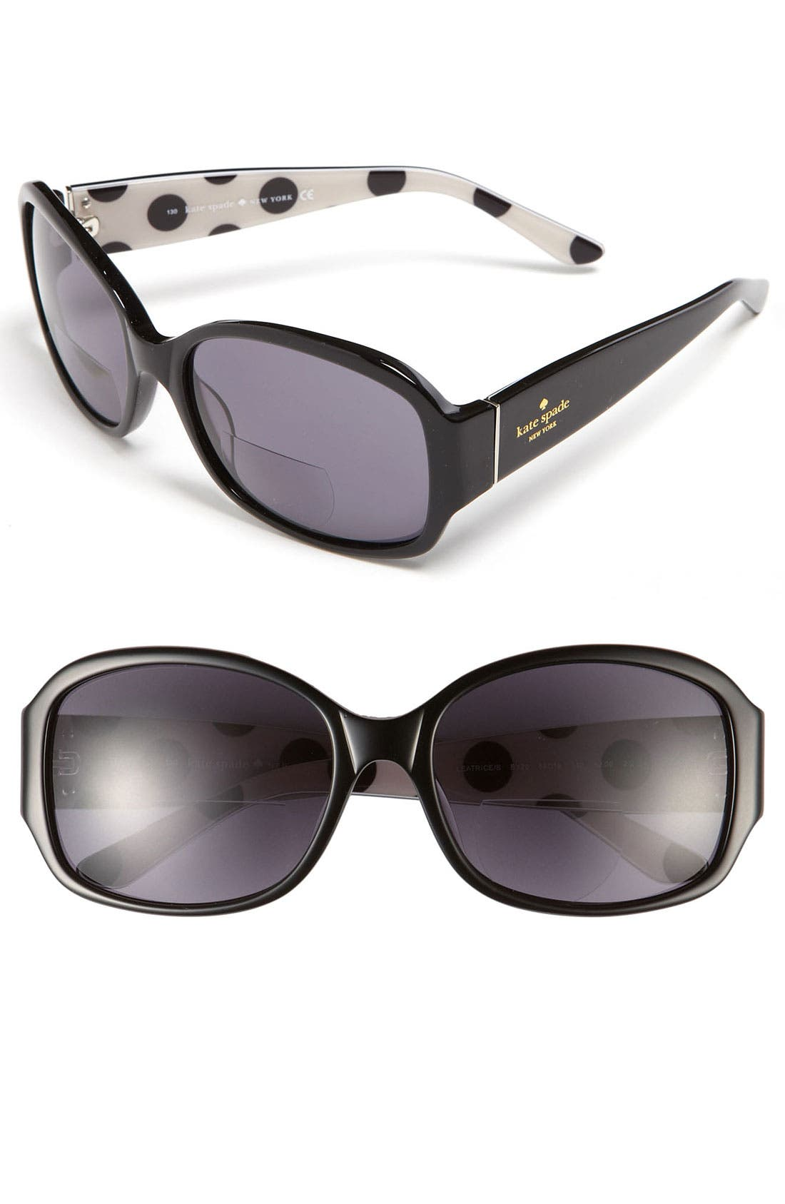 Main Image - kate spade new york 'leatrice' 58mm bifocal reading sunglasses (2 for $88)