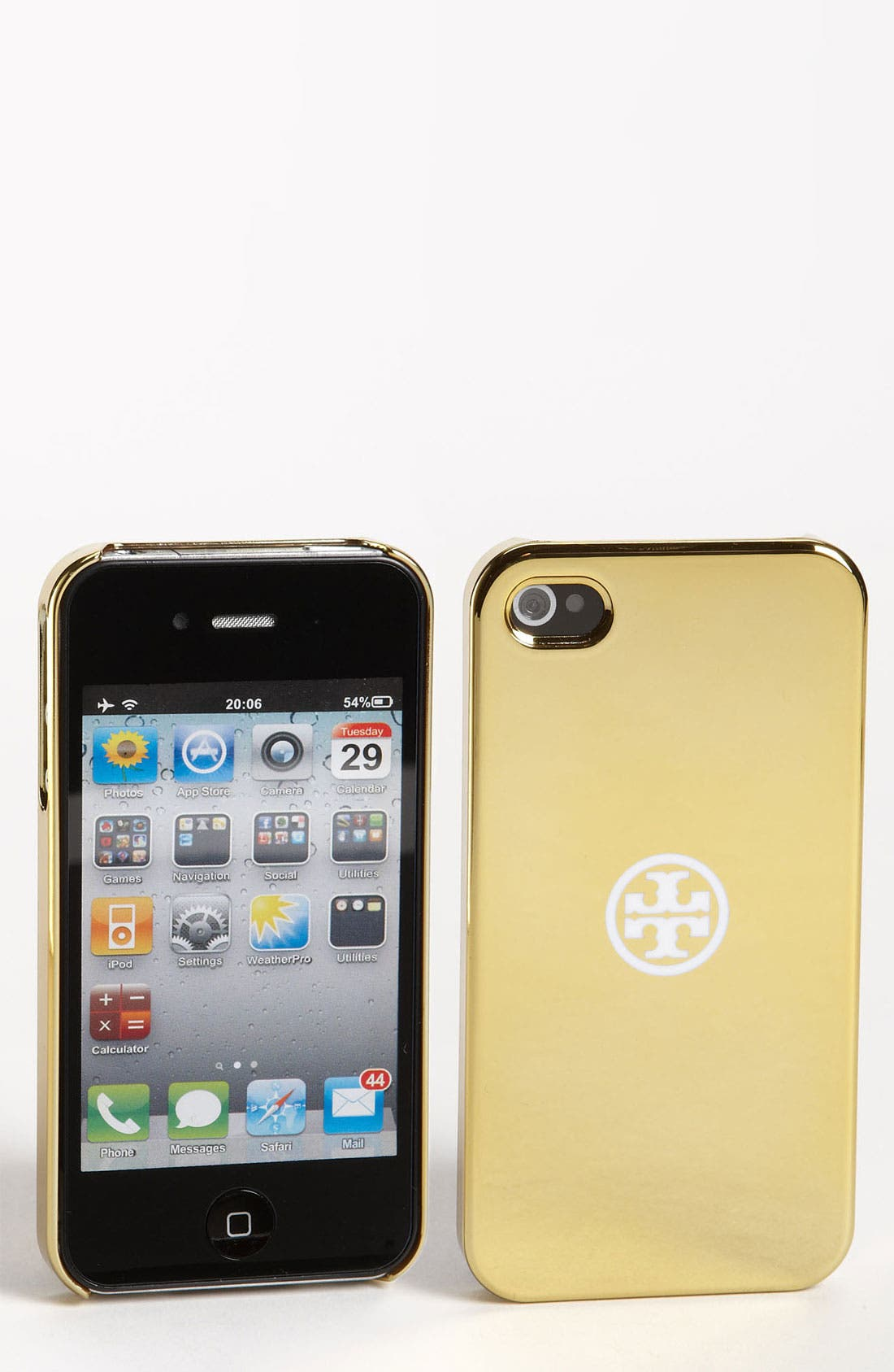 Alternate Image 1 Selected - Tory Burch Hard Shell iPhone 4 & 4S Case