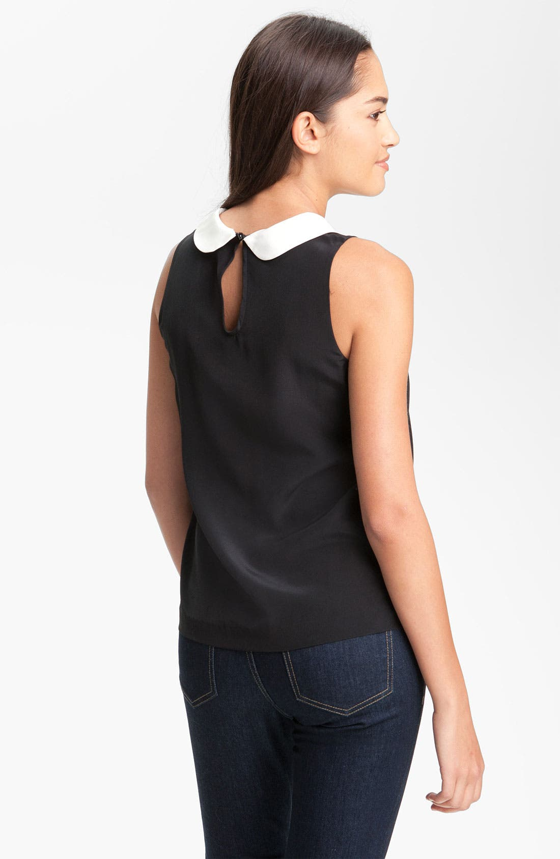 Alternate Image 2  - kate spade new york 'jensen' silk top