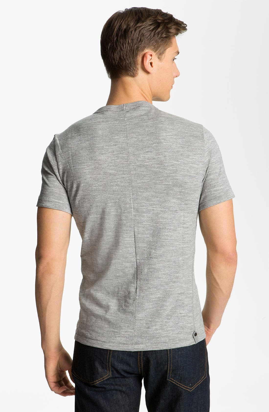 Alternate Image 2  - rag & bone Pocket Crewneck T-Shirt