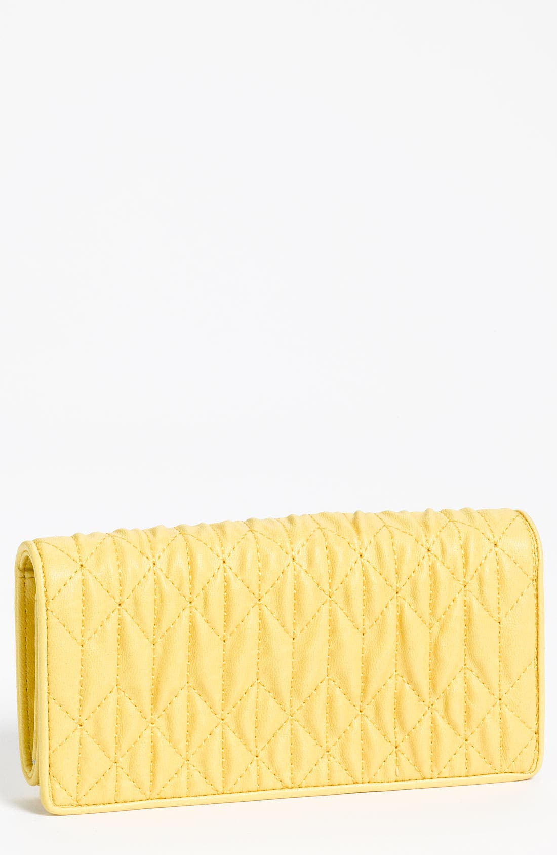 Main Image - Under One Sky Quilted Faux Leather Wallet