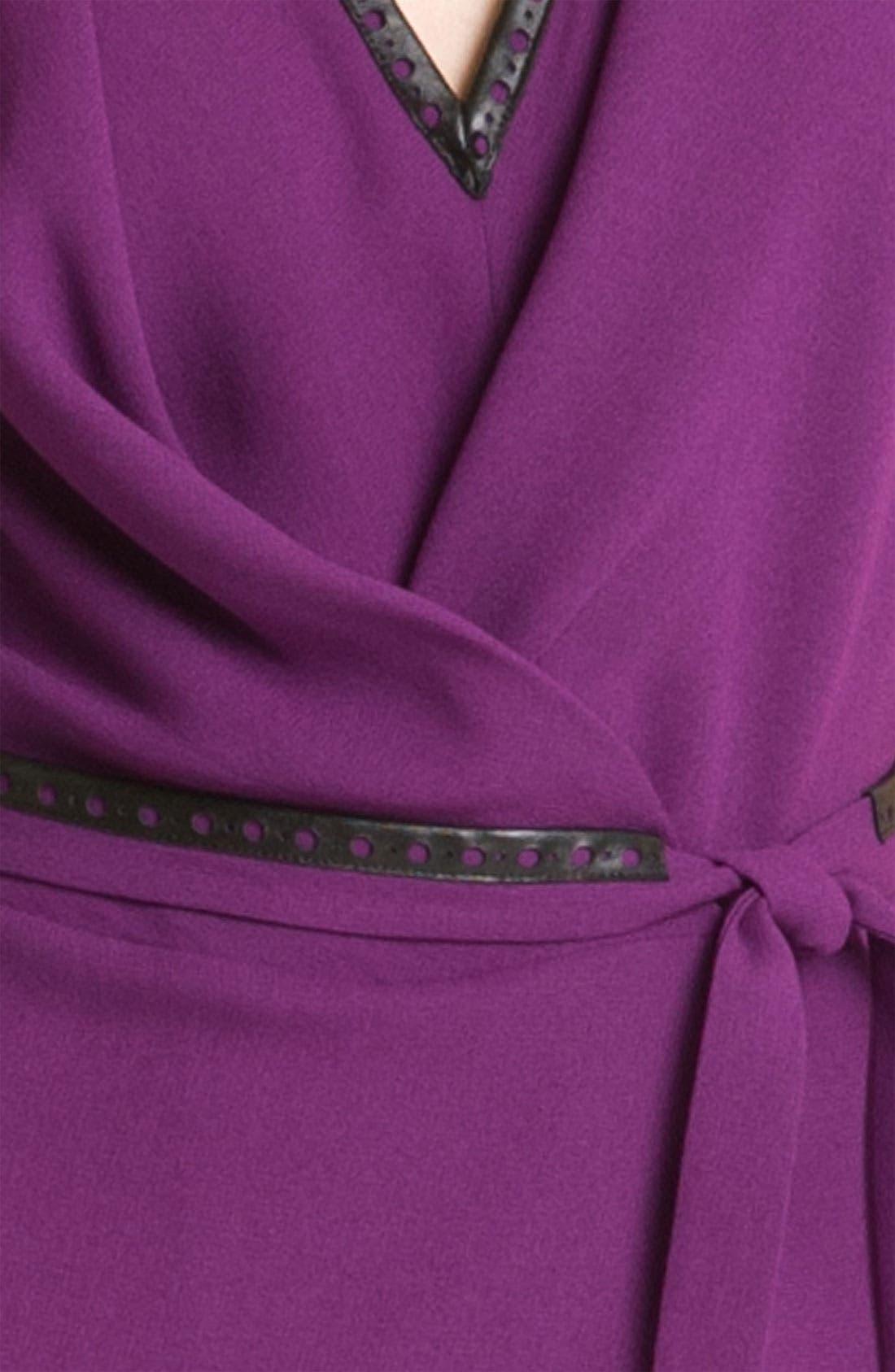 Alternate Image 3  - Rachel Roy Crepe Faux Wrap Dress (Online Exclusive)