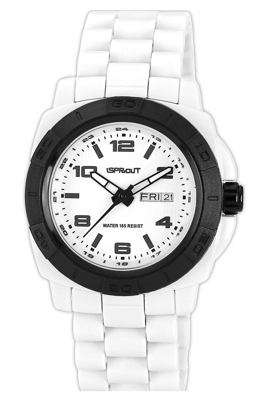 Alternate Image 1 Selected - SPROUT™ Watches Round Bracelet Watch, 41mm