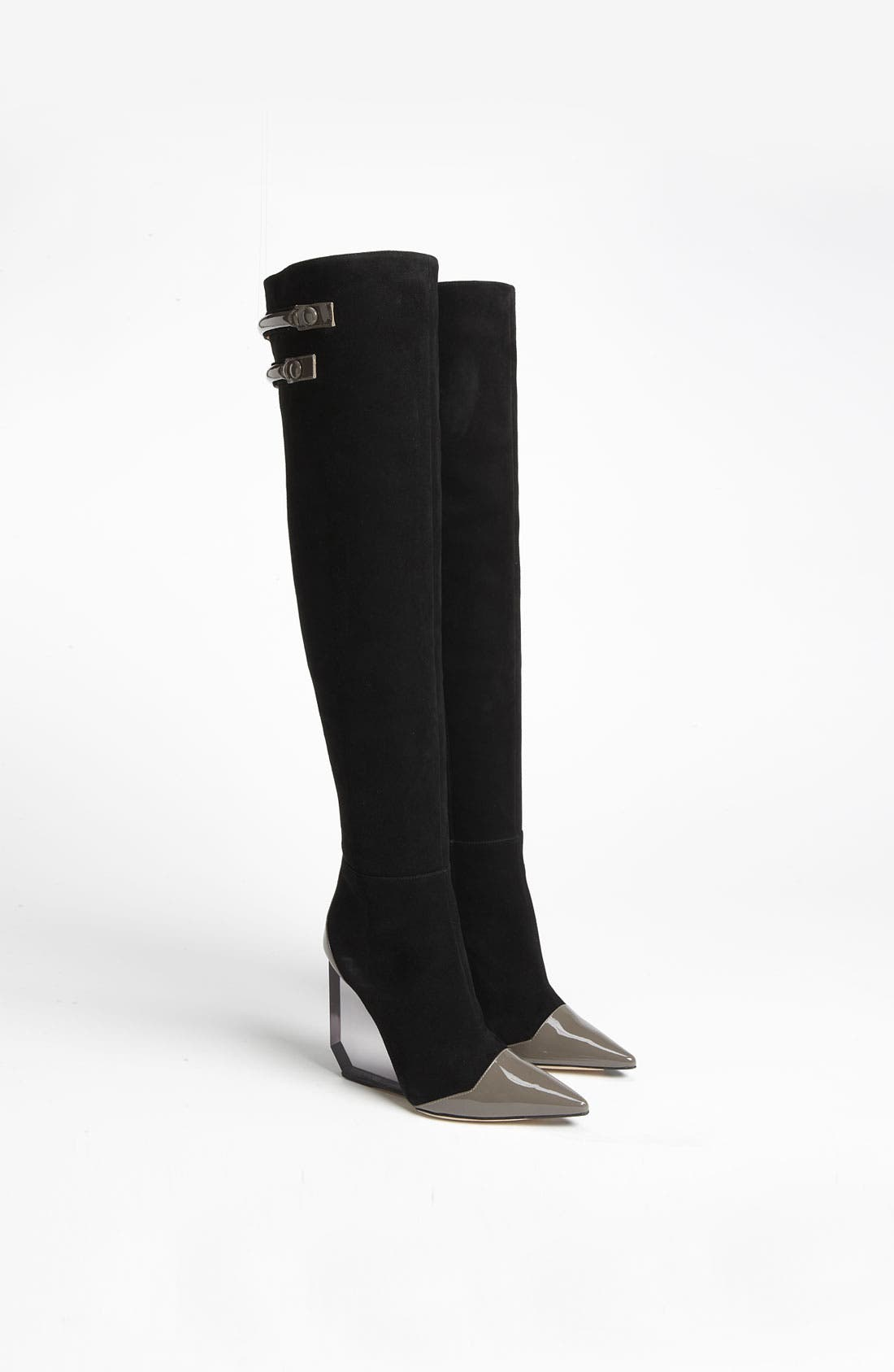 Alternate Image 4  - Pollini Wedge Over the Knee Boot