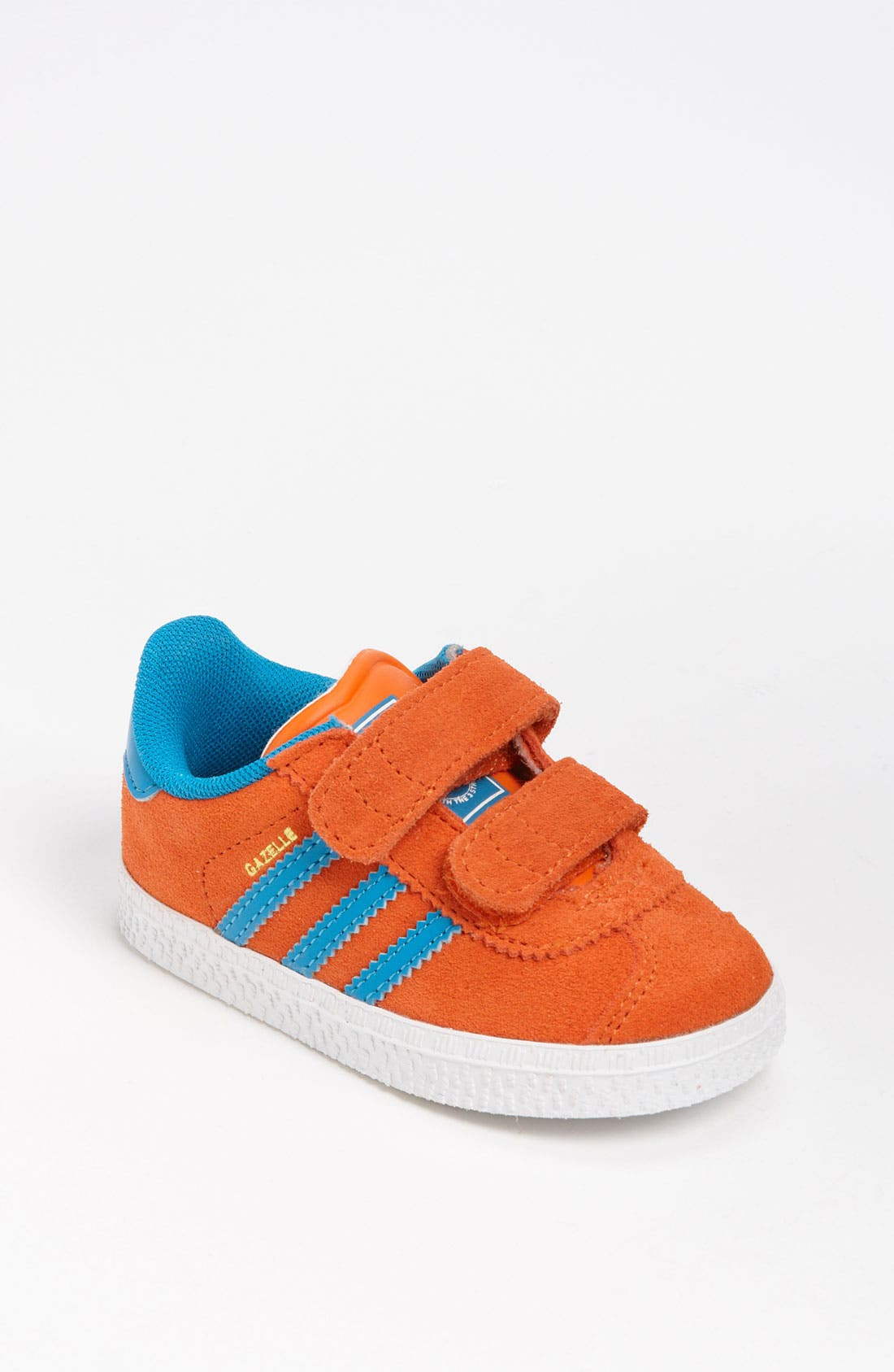 Alternate Image 1 Selected - adidas 'Gazelle 2' Sneaker (Baby, Walker & Toddler)