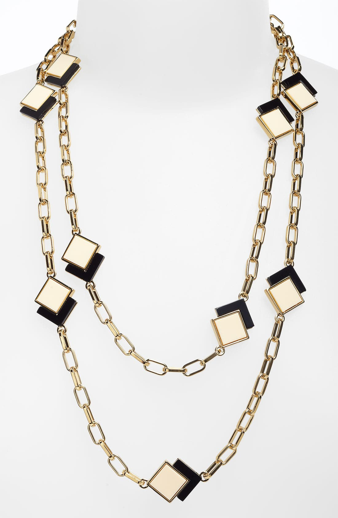 Alternate Image 1 Selected - Tory Burch 'Tomi' Square Long Necklace
