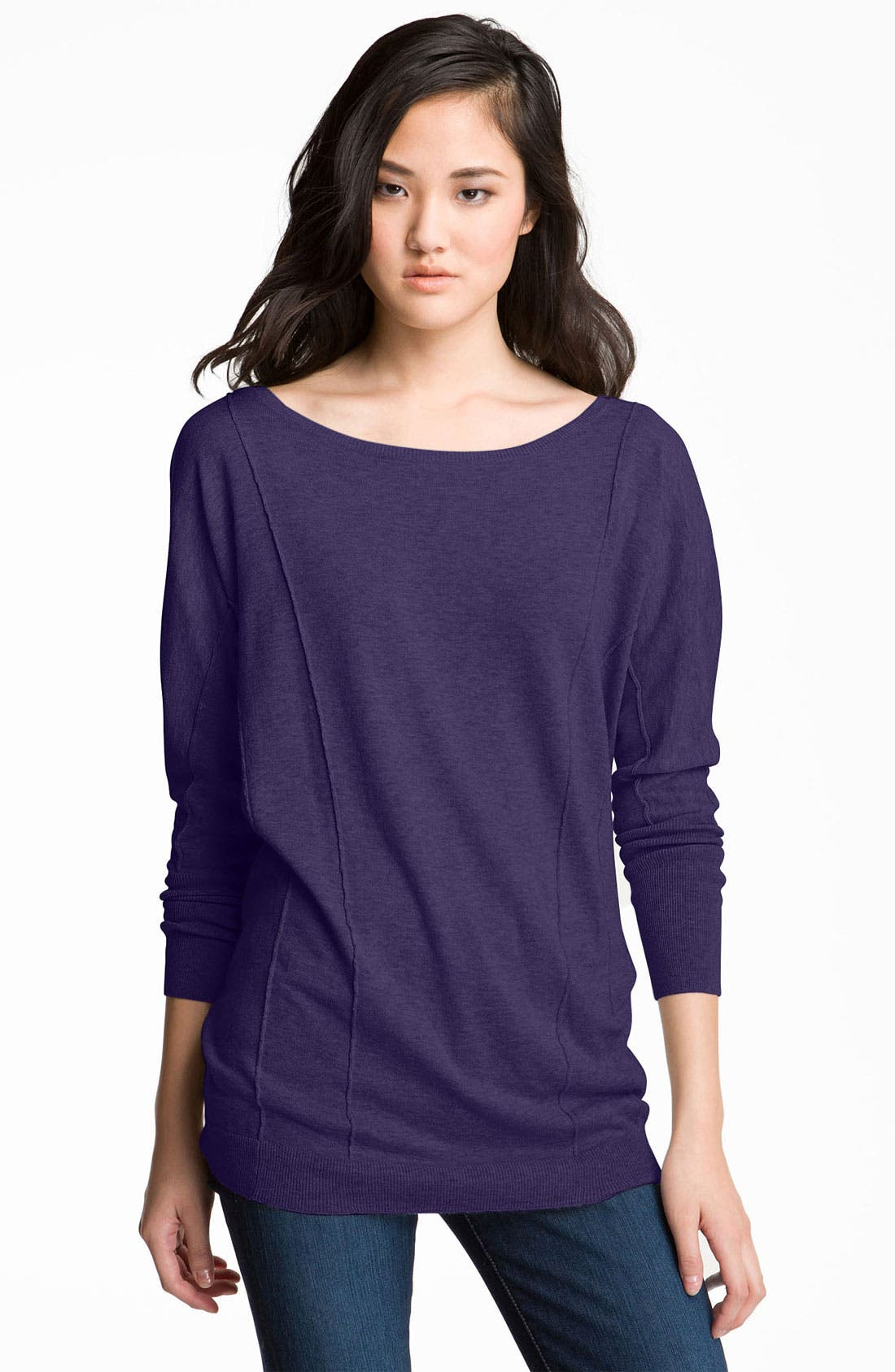 Main Image - Trouvé Seamed Dolman Sleeve Sweater Tunic