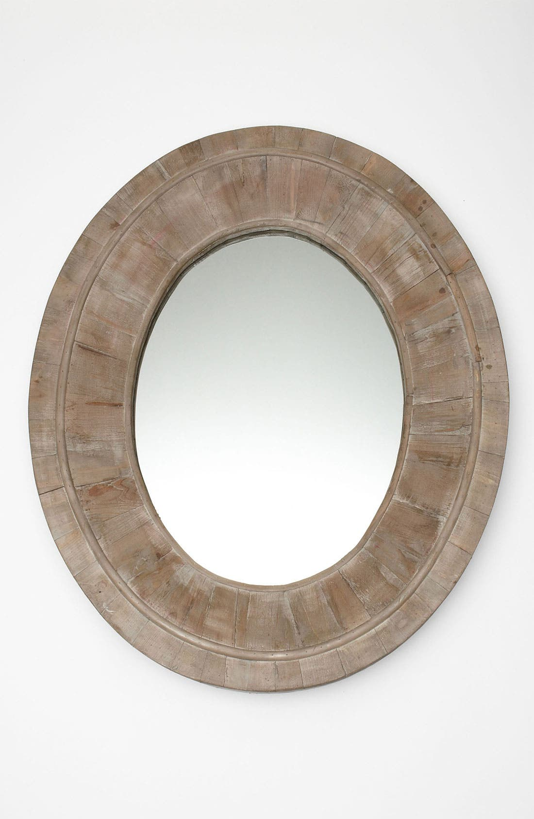 Alternate Image 1 Selected - Reclaimed Pine Oval Mirror