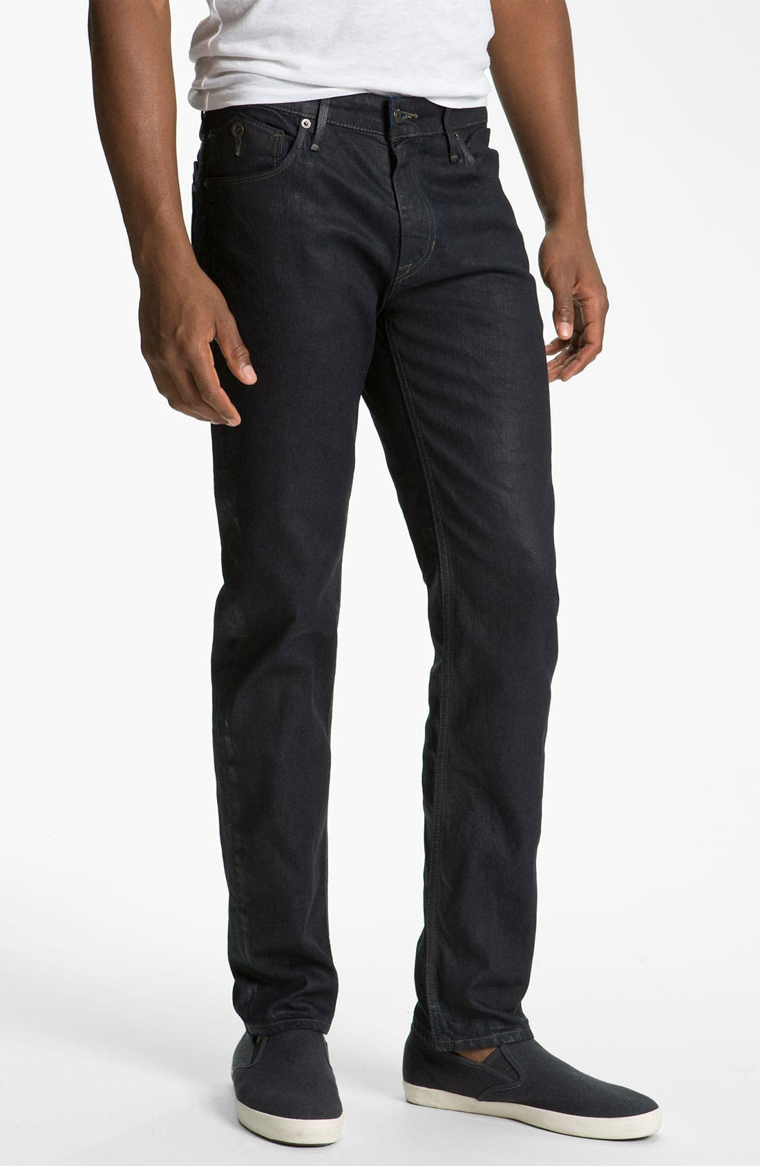 Alternate Image 2  - Levi's® '511™' Coated Slim Straight Leg Jeans (Dean)