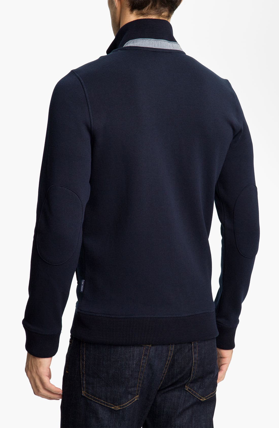 Alternate Image 2  - Ted Baker London 'Nordman' Sweatshirt Cardigan