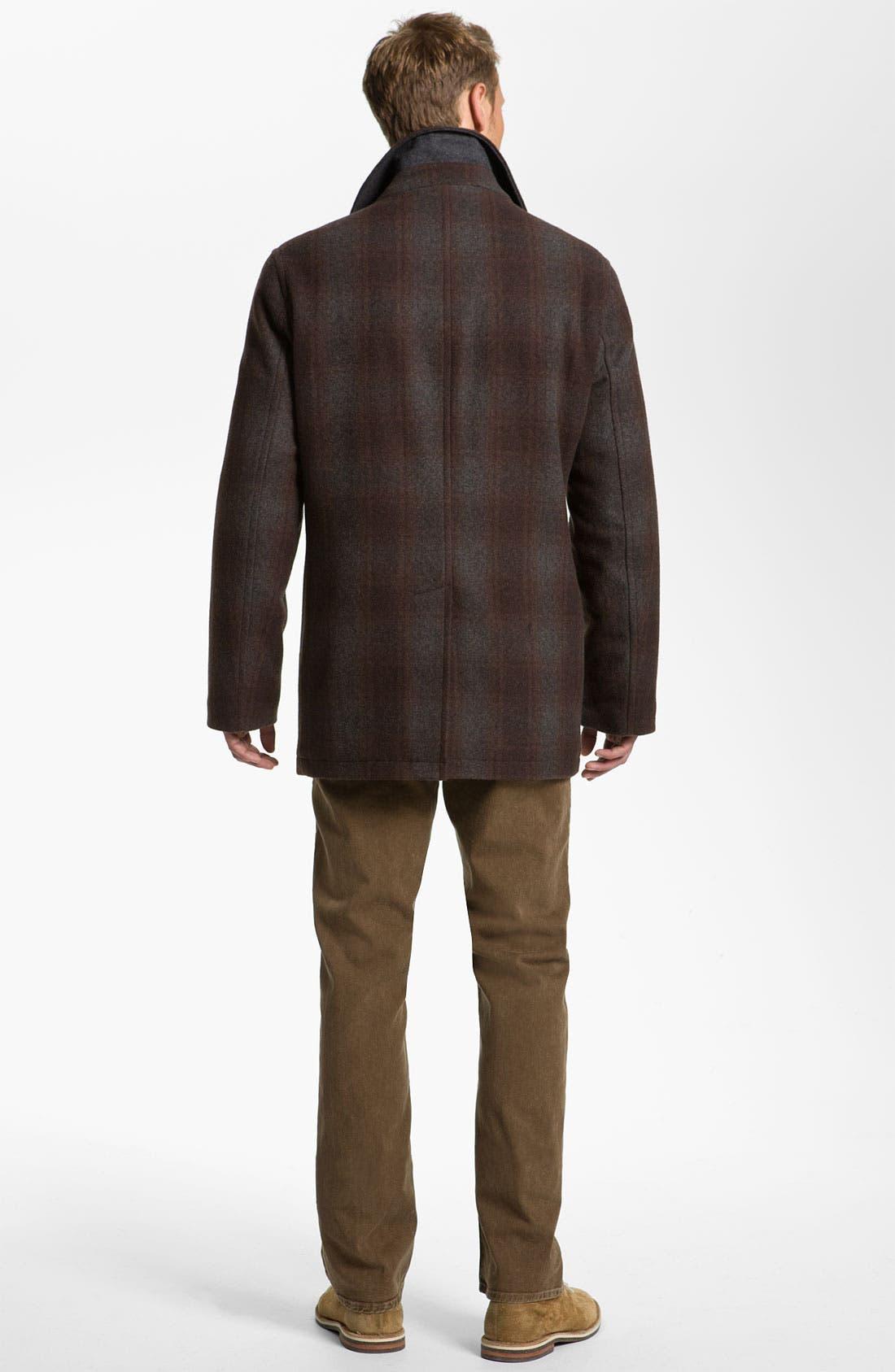Alternate Image 5  - Hickey Freeman Cable Knit Merino Wool Blend Cardigan
